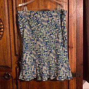 Alfani 14p a line skirt; EUC, lined